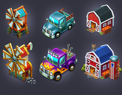 Fantasy Farm 2D Game Assets