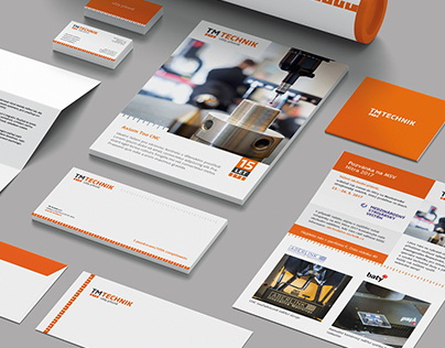 TM TECHNIK: logo, corporate design, prints