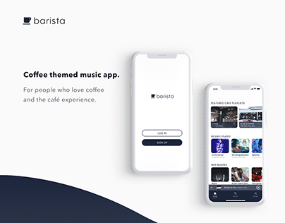Barista Music App