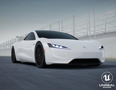 Tesla Roadster 2020 | Unreal Engine 4