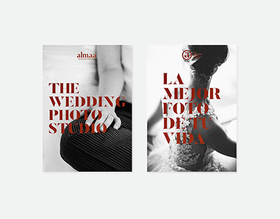 Almaa. The wedding photo studio - brand