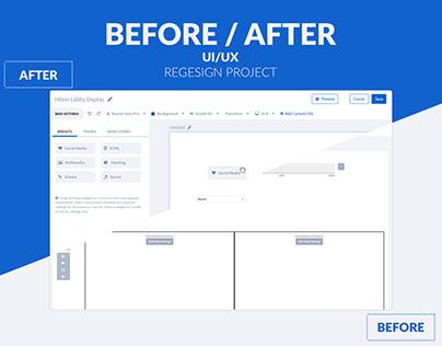 Redesign UI/UX