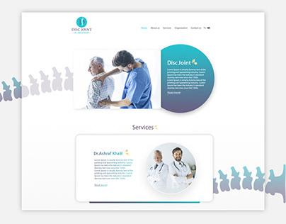 Disc Joint Clinic- Website Design & Development