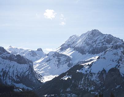 Swiss Alps, March 2019