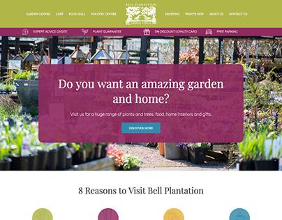 Bell Plantation Website Design Project
