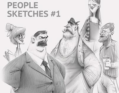 Random People Sketches