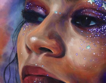 Zendaya - Rue Bennett - Euphoria - by Teresa McDougal