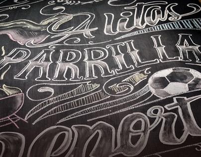 Chalkboard Lettering 01