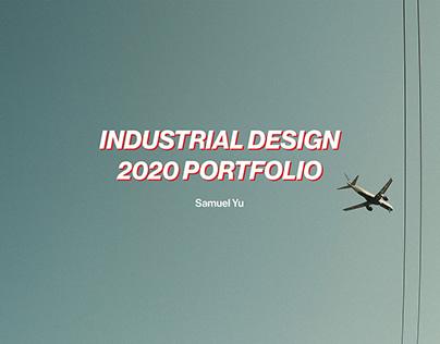 Industrial Design Portfolio 2020