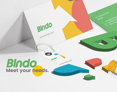 Blndo Brand Identity Design.