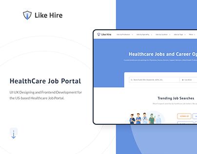Job Portal   Website   UI UX Design