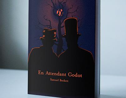En Attendant Godot ( Waiting for Godot ) Book Cover