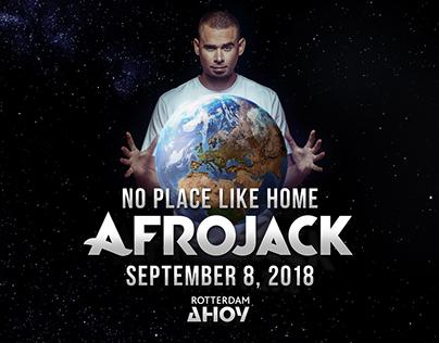 Afrojack No Place Like Home key visual.