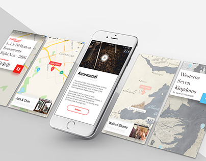 MapMe Mobile Redesign