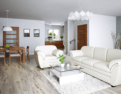 Řadový dům - interiér / Line House - interior