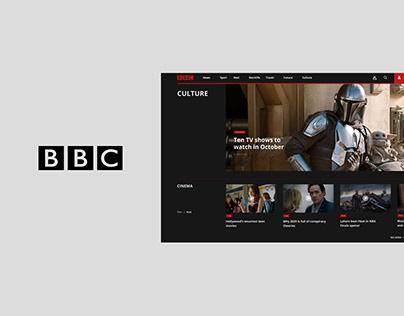 BBC website redesign