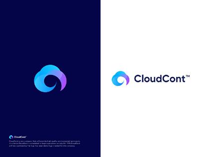 Cloud Branding Identity Logo | Logo Design | Logo folio