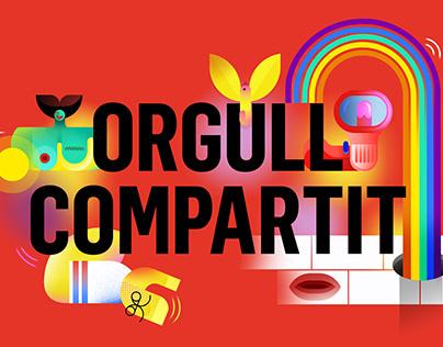 """""""Orgull Compartit"""" Pride Campaign"""