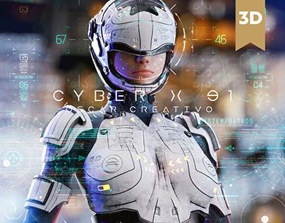 Cyber Armor x91 Free Model By Oscar creativo