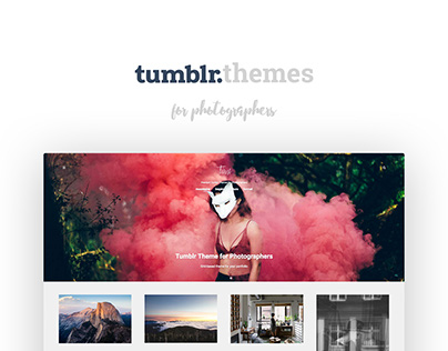 Tumblr Themes for Photographers 2016