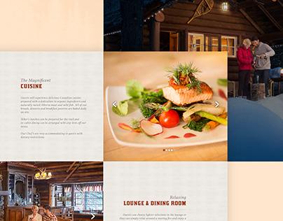 Storm Mountain Lodge Website