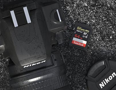 Battered Nikon D40
