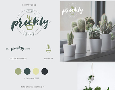 The Prickly Shop Branding