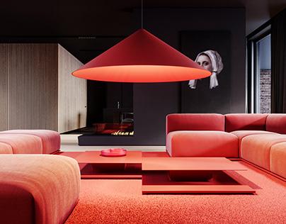 I.080 - Single family house interior design