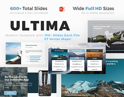 Ultima Powerpoint Template Download