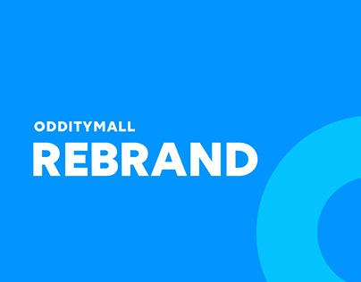 Odditymall : Logo Redesign
