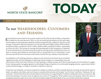 Caddell Communications—NSB Corporate Newsletter