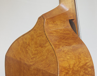 Bass viol, after Stainer