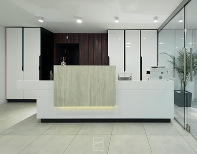 Law Office Interior Design by AddLine group