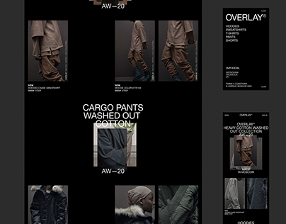OVERLAY clothing brand