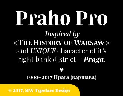 Praho Pro Serif_Extended Family