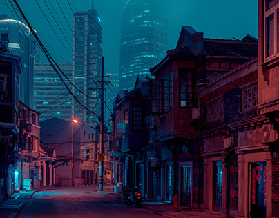 Shanghai Street – Photo Series by Cody Ellingham