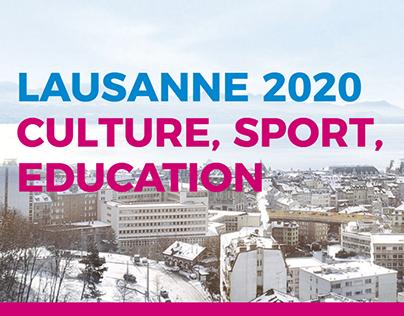 Lausanne 2020 - Site statique généré