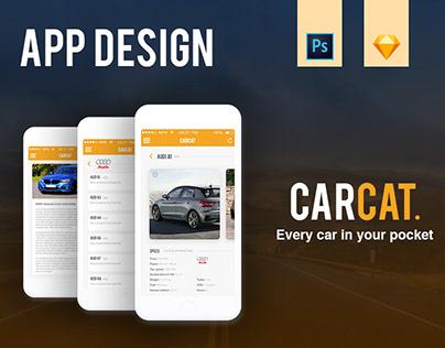 CarCat - App Design
