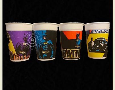 Vasos coleccionables Postobón de Batman