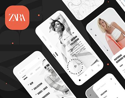 Zara App Concept