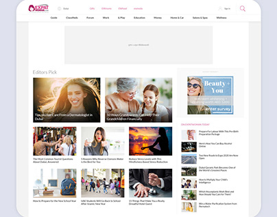 ExpatWoman Website New Design