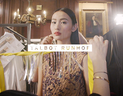 Talbot Runhof Backstage 2019