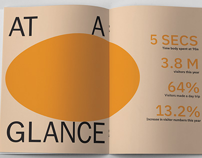 Luna Land Annual Report Identity- Typesetting/Print