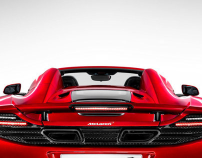 UX for McLaren Automotive .com