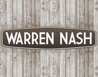Warren Nash Rebrand (Online Chef)