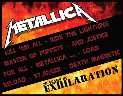 Metallica Album Cover Design