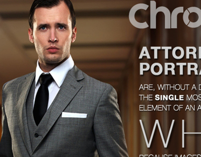 Attorney photography Promotional Ad