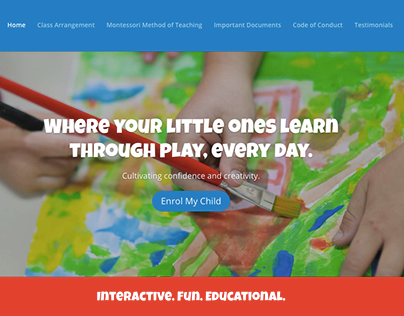 Website Copy | Teddy Bears Montessori