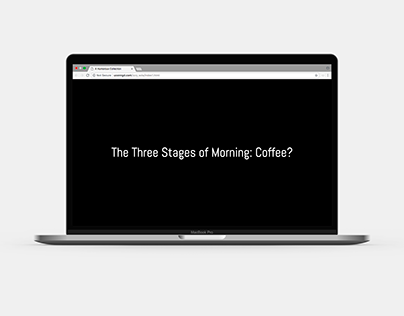 The Three Stages of Morning