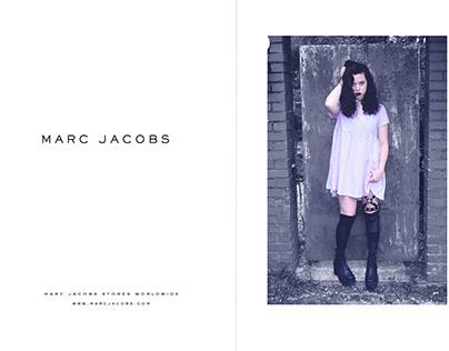 Marc Jacobs-Mock Advertisements